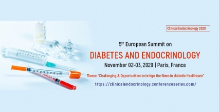 Save the date: 5th European Congress on Diabetes and Endocrinology
